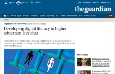 http://www.guardian.co.uk/higher-education-network/blog/2012/feb/28/developing-digital-literacy#start-of-comments