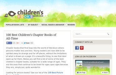 http://childrensbooksguide.com/100-best-childrens-chapter-books-of-all-time