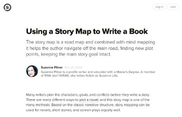 http://suite101.com/article/using-a-story-map-to-write-a-book-a173847