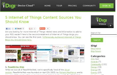 http://www.idigi.com/blog/community/5-internet-of-things-content-sources-you-should-know/