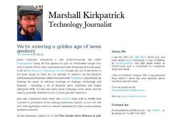 http://marshallk.com/were-entering-a-golden-age-of-news-geekery