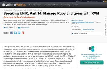 http://www.ibm.com/developerworks/aix/library/au-aix-manage-ruby/index.html?ca=drs-