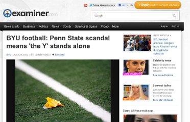 http://www.examiner.com/article/byu-football-penn-state-scandal-means-the-y-stands-alone