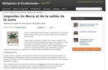 http://suite101.fr/article/legendes-du-berry-et-de-la-vallee-de-la-loire-a8407
