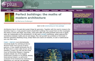 http://plus.maths.org/content/perfect-buildings-maths-modern-architecture