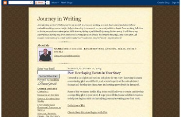 http://journeyinwriting.blogspot.com/2005/10/plot-developing-events-in-your-story.html