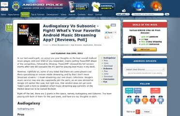 http://www.androidpolice.com/2010/11/12/audiogalaxy-vs-subsonic-fight-whats-your-favorite-android-music-streaming-app-reviews-poll/