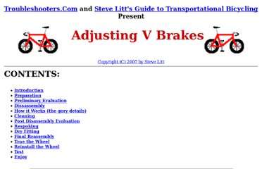 http://www.troubleshooters.com/bicycles/vbrakes.htm