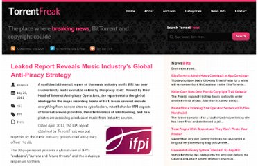 http://torrentfreak.com/leaked-report-reveals-music-industrys-global-anti-piracy-strategy-120725/