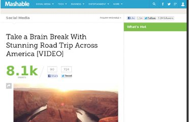 http://mashable.com/2012/07/25/beautiful-road-trip-america-video/