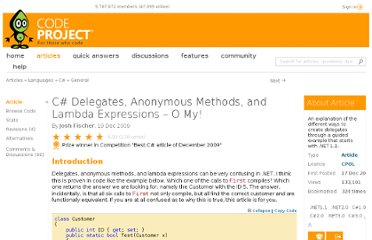 http://www.codeproject.com/Articles/47887/C-Delegates-Anonymous-Methods-and-Lambda-Expressio