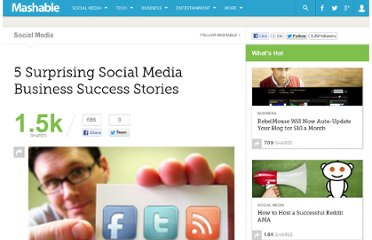 http://mashable.com/2010/05/21/surprising-social-media-business-success/