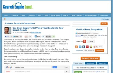 http://searchengineland.com/use-open-graph-to-get-video-thumbnails-into-your-search-results-128264