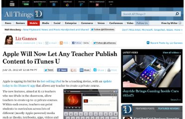 http://allthingsd.com/20120725/apple-will-now-let-any-teacher-publish-content-to-itunes-u/