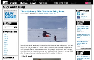 http://guycodeblog.mtv.com/2011/12/20/animals-being-jerks/