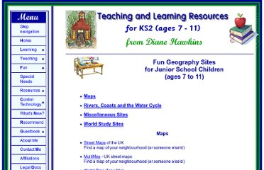 http://www.teachingandlearningresources.co.uk/fungeography.shtml