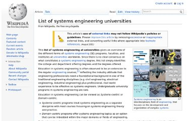 http://en.wikipedia.org/wiki/List_of_systems_engineering_universities