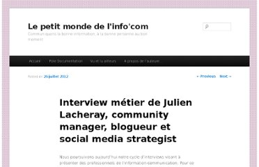 http://www.gardavot.fr/interviews/interview-metier-julien-lacheray-community-manager-blogueur-et-social-media-strategist/