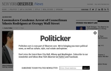 http://politicker.com/2011/11/lawmakers-condemn-arrest-of-councilman-ydanis-rodriguez-at-occupy-wall-street/
