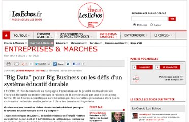 http://lecercle.lesechos.fr/entreprises-marches/high-tech-medias/internet/221150973/big-data-big-business-defis-systeme-educatif