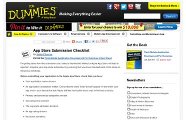http://www.dummies.com/how-to/content/app-store-submission-checklist.html