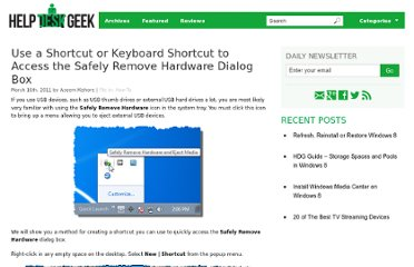 http://helpdeskgeek.com/how-to/use-a-shortcut-or-keyboard-shortcut-to-access-the-safely-remove-hardware-dialog-box/