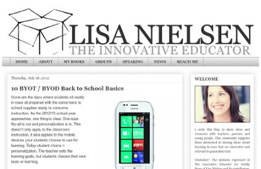 http://theinnovativeeducator.blogspot.com/2012/07/10-byot-byod-back-to-school-basics.html