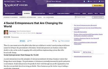http://voices.yahoo.com/4-social-entrepreneurs-changing-world-5060502.html