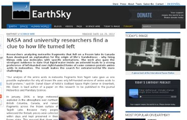 http://earthsky.org/science-wire/nasa-and-university-researchers-find-a-clue-to-how-life-turned-left