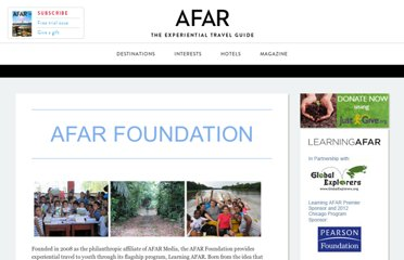 http://about.afar.com/about/afar-foundation/