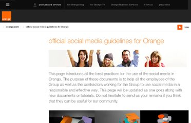 http://www.orange.com/en/smgsite/official-social-media-guidelines-for-the-France-Telecom-Orange-Group