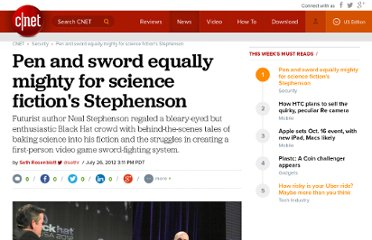 http://news.cnet.com/8301-1009_3-57481004-83/pen-and-sword-equally-mighty-for-science-fictions-stephenson/