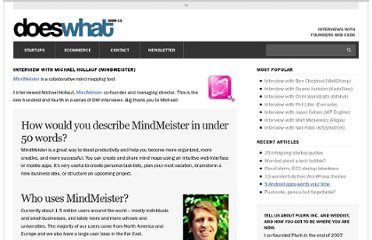 http://doeswhat.com/2012/07/26/interview-with-michael-hollauf-mindmeister/
