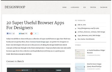 http://designwoop.com/2012/07/20-super-useful-browser-apps-for-designers/