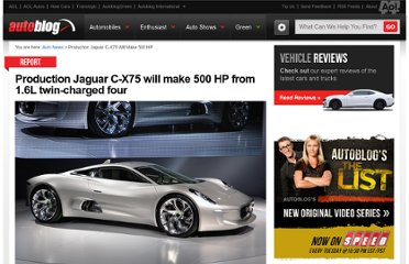 http://www.autoblog.com/2012/07/26/production-jaguar-c-x75-will-have-500-hp-1-6l-turbo/