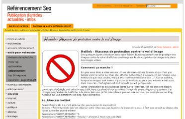 http://www.referencement-seo.com/htaccess-hotlink-protection-vol-image-contenu.html