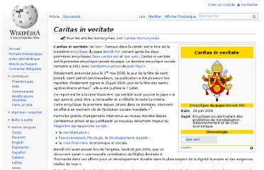 http://fr.wikipedia.org/wiki/Caritas_in_veritate