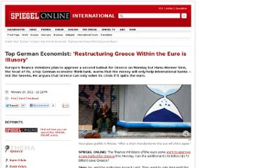 http://www.spiegel.de/international/europe/top-german-economist-restructuring-greece-within-the-euro-is-illusory-a-816410.html
