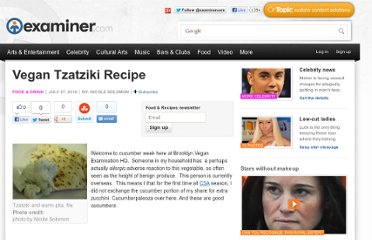 http://www.examiner.com/article/vegan-tzatziki-recipe