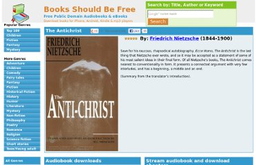 http://www.booksshouldbefree.com/book/the-antichrist-by-nietzsche