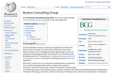 http://de.wikipedia.org/wiki/Boston_Consulting_Group