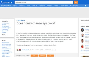 http://wiki.answers.com/Q/Does_honey_change_eye_color