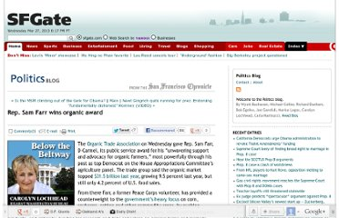 http://blog.sfgate.com/nov05election/2012/04/25/rep-sam-farr-wins-organic-award/