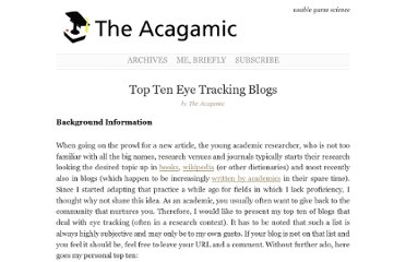 http://www.acagamic.com/research/eyetracking/top-ten-eye-tracking-blogs/