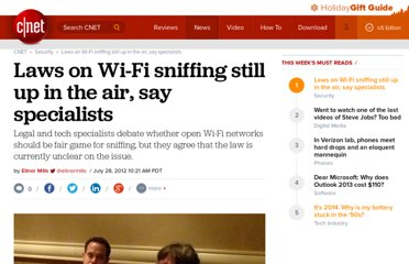 http://news.cnet.com/8301-1009_3-57481833-83/laws-on-wi-fi-sniffing-still-up-in-the-air-say-specialists/