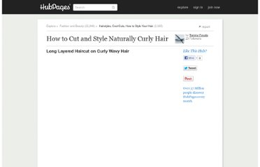 http://tammyfavata.hubpages.com/hub/How-to-Cut-and-Style-Naturally-Curly-Hair