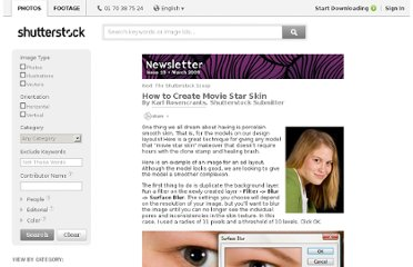 http://www.shutterstock.com/newsletter/130/How_to_Create_Movie_Star_Skin-3.html