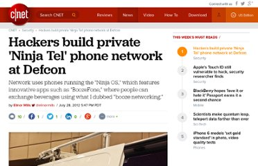 http://news.cnet.com/8301-1009_3-57481871-83/hackers-build-private-ninja-tel-phone-network-at-defcon/