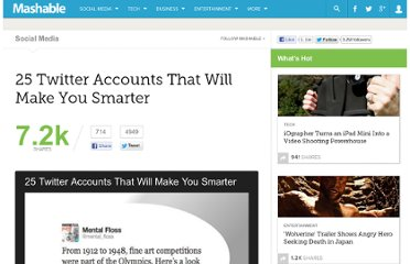 http://mashable.com/2012/07/27/smart-twitter-accounts/#772673-Neil-deGrasse-Tyson