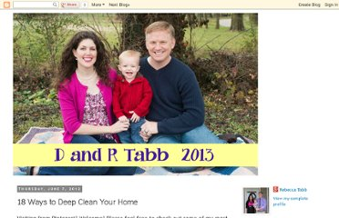 http://drtabb.blogspot.com/2012/06/18-ways-to-deep-clean-your-home.html